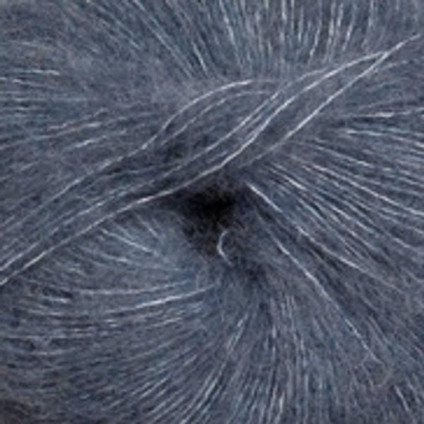 Alpakka Lin 6555 Jeansblå