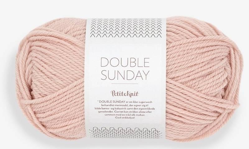 Double Sunday 3521 Petite Knit Ballet Shoe
