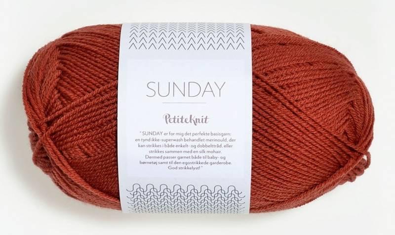 Sunday 3536 Petite Knit Brick